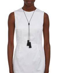 Wendy Nichol | Black Leather Bolero Necklace | Lyst