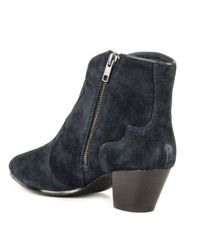 Ash Blue Hurrican Ankle Boots