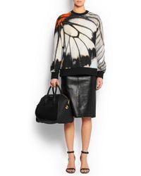 Givenchy - Medium Antigona Bag In Black Rubberized Canvas - Lyst