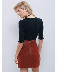 Free People - Black Sweetheart Top - Lyst