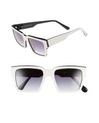 Ill.i by Will.i.am | Black 'wa507s' 54mm Sunglasses | Lyst