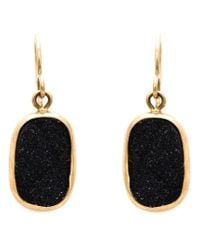 Melissa Joy Manning | Metallic Druzy Drop Earrings | Lyst
