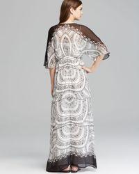 Twelfth Street Cynthia Vincent Multicolor Maxi Dress Dolman Tassel