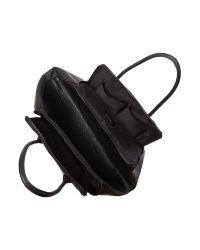 Label Lab Black Kiri Tote Bag