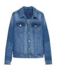Violeta by Mango Blue Denim Jacket