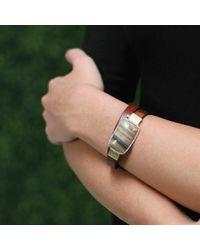 Pamela Huizenga | Brown Double Wrap Saturn Chalcedony Bracelet | Lyst
