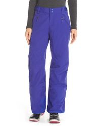 The North Face | Blue 'freedom' Waterproof Heatseeker Insulated Snow Pants | Lyst