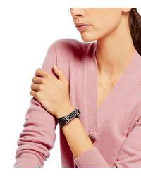 Tory Burch - Metallic For Fitbit Fret Double-wrap Bracelet - Lyst
