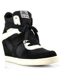 Ash - Cool Black Velcro Sneaker - Lyst