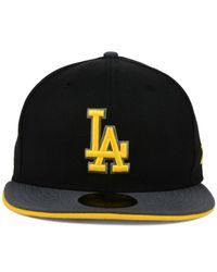 KTZ - Black Los Angeles Dodgers G-flip 59fifty Cap for Men - Lyst