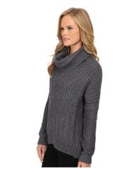 Splendid | Gray Stanton Cable Pullover | Lyst