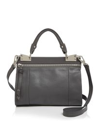 Foley + Corinna - Gray Dione Mini Messenger Crossbody - Lyst