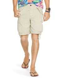 Ralph Lauren - Natural Polo Ripstop Cargo Shorts - Classic Fit for Men - Lyst
