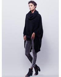 Free People - Metallic Womens Braidpleats Stack Legging - Lyst