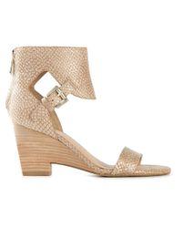 Sigerson Morrison Natural 'Adirna' Sandals