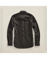 RRL - Brown Striped Lee Workshirt for Men - Lyst