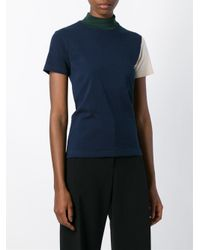 Jacquemus - Blue Colour Block Top - Lyst
