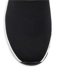 Eileen Fisher Black Hug Slip-on Sneakers