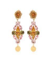 Dolce & Gabbana - Multicolor Clipon Earrings - Lyst