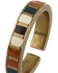 Isabel Marant - Multicolor Blondie Brass Resin Ring - Lyst