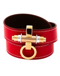 Givenchy | Red 'obsedia' Bracelet | Lyst