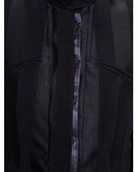 Ann Demeulemeester Black Striped Blazer