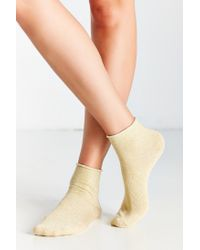 Urban Outfitters - Metallic Anklet Sock - Lyst