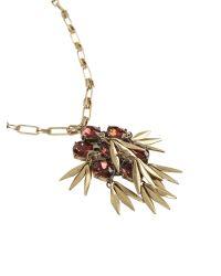 Ziba | Metallic Clara Necklace | Lyst