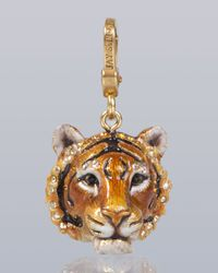 Jay Strongwater | Multicolor Ian Tiger Charm | Lyst