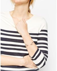 ASOS | Metallic Limited Edition Interstellar Cage Open Cuff Bracelet | Lyst