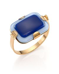 Marc By Marc Jacobs | Blue Kandi Gem Cuff Bracelet | Lyst