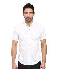 7 Diamonds | White Rising Tide Short Sleeve Shirt for Men | Lyst