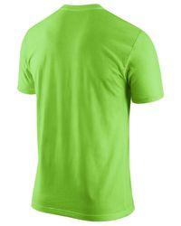 Nike Green Men's Seattle Seahawks Team Spirit T-shirt for men