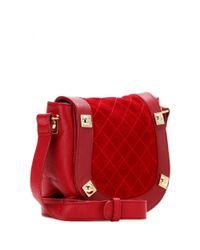See By Chloé - Red Sadie Quilted Shoulder Bag - Lyst