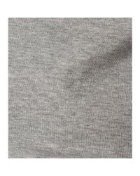 Acne Studios - Gray Neona Cotton Top - Lyst