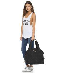 Adidas By Stella McCartney - Big Duffel Bag - Black - Lyst
