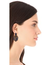 Aurelie Bidermann - Metallic Wild West Clip On Lapis Lazuli Earrings - Lyst