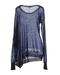 CoSTUME NATIONAL | Blue Jumper | Lyst