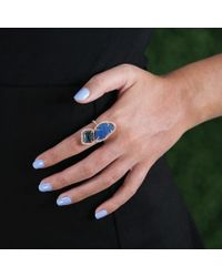 Jordan Alexander - Blue-Green Azurite Ring - Lyst