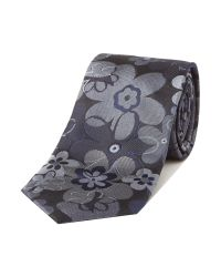 Simon Carter | Gray Patterned Tie for Men | Lyst