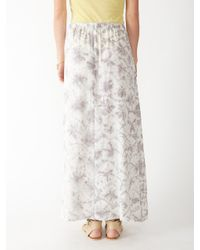 Alternative Apparel - Gray Haiku Taki Wash Maxi Skirt - Lyst