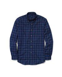 Polo Ralph Lauren - Blue Slim-fit Plaid Twill Shirt for Men - Lyst