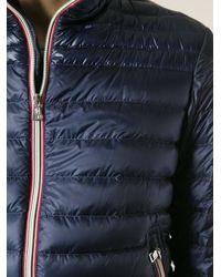Moncler - Blue 'Daniel' Padded Jacket for Men - Lyst