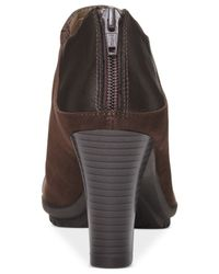 Aerosoles - Brown Commentary Booties - Lyst