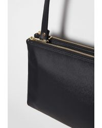 Forever 21 Black Faux Leather Dual Crossbody You've Been Added To The Waitlist