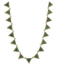 House of Harlow 1960 | Green Native Legends Collar Necklace | Lyst