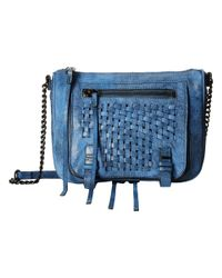 She + Lo | Blue Take A Chance Zip Crossbody | Lyst