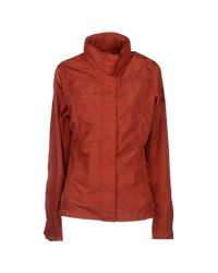 Napapijri - Red Jacket - Lyst