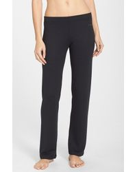 Joe's Jeans | Black 'cara' Thermal Yoga Pants | Lyst