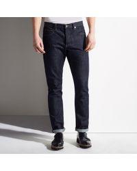 Bally Blue Straight Leg Jeans for men